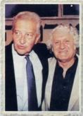עם עזר וייצמן, 1997