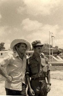 ליאור עם נתן בצבא
