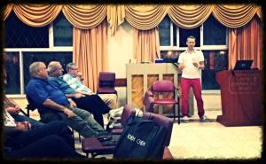 הרצאה על נתן יונתן ביהוד, נובמבר 2013