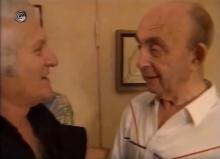נתן יונתן וסשה ארגוב מתוך כתבת יומן ערוץ 1